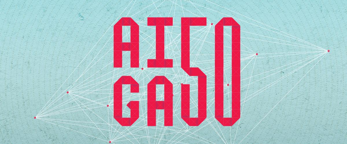 AIGA 50 - logo